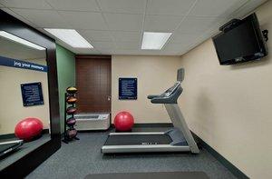 Fitness/ Exercise Room - Hampton Inn Cherokee