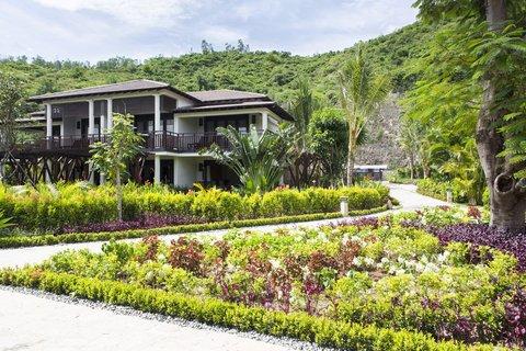 Garden at Amiana Resort Nha Trang
