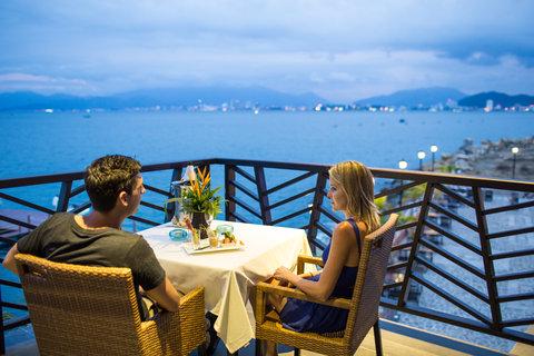 Dinner Skyline view at Amiana Resort Nha Trang