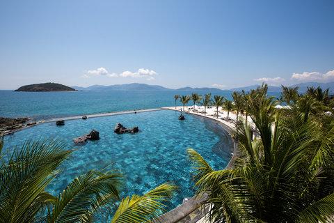 Seawater Pool at Amiana Resort Nha Trang