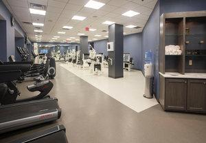 Fitness/ Exercise Room - Marriott Hotel Little Rock