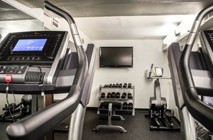 Fitness/ Exercise Room - Clarion Inn Tampa