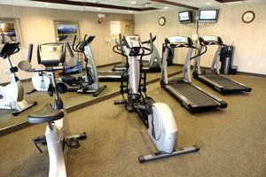 Fitness/ Exercise Room - Holiday Inn Express Hotel & Suites Hospital Springfield