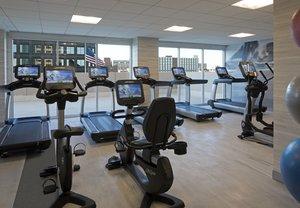 Fitness/ Exercise Room - Marriott Hotel Country Club Plaza Kansas City