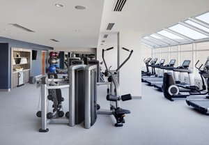 Fitness/ Exercise Room - Marriott Hotel Downtown Indianapolis