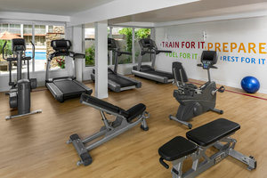 Fitness/ Exercise Room - Sheraton Hotel Tempe