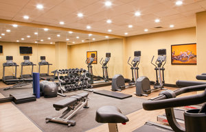 Fitness/ Exercise Room - Holiday Inn Presidential Conference Center Little Rock