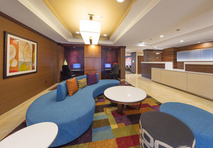 Lobby - Fairfield Inn by Marriott Lexington Park