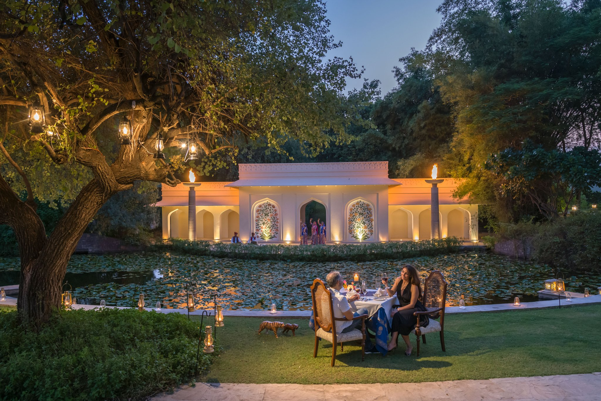 Meetings and events at The Oberoi Vanyavilas, Ranthambhore, IN